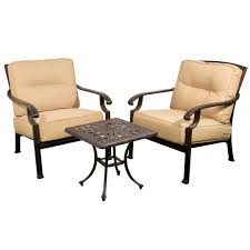 Kensington Bistro Chair Kensington Firepit And Grill Cast Aluminium Bistro Set