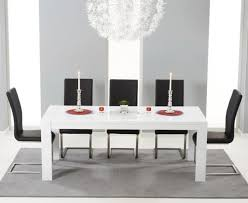 Gloss Dining Tables Large White Gloss Extending Table 3 M 12 Seater Buy Today