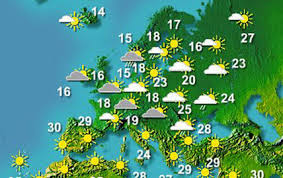 WEATHER  IN   EUROPE