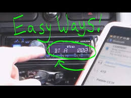 easy ways to connect phone to car stereo radio