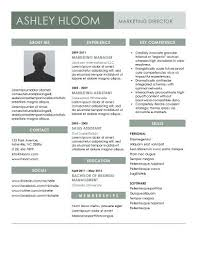 Resume Format For Job In Word by 20 Best Free Resume Templates Microsoft Word