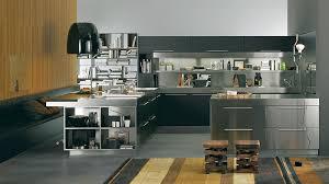 cuisines inox inox autocollant pour cuisine maison design bahbe com