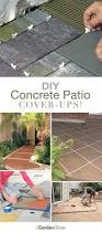 How To Build A Cement Patio Best 25 Concrete Patio Paint Ideas On Pinterest Painted