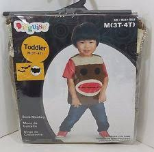 sock monkey costume sock monkey costume ebay