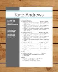 modern resume template word winning free modern resume templates for word template cv the