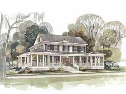 Wrap Around Porch House Plans Southern Living 184 Best Country House Images On Pinterest Country Houses Dream