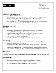sample college student resume no work experience sample resume no