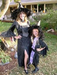 Mother Daughter Costumes Halloween Magical Witch Mommy Costumes Party Halloween