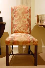 reupholstered dining room chairs reupholster upholstered with