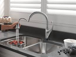 Touch Free Kitchen Faucets by Delta Faucet 9192t Ar Dst Addison Single Handle Pull Down Kitchen