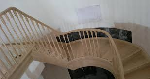 Curved Handrail Staircases
