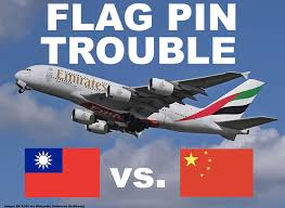 emirates airlines wikipedia emirates instructs taiwanese crew to remove flag pin and replace it