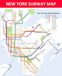 Brooklyn Ny Map New York Subway Map Lines Stations And Interchanges