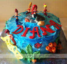 under the sea bajo el mar u2013 cakes and more by nora