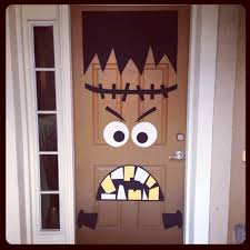 front doors kids ideas front door hallowesen decoration idea 34