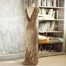metallic gold bridesmaid dresses 2015 light gold bridesmaid dress cap sleeve luxury sequin evening