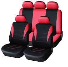 siege nissan bleu tissu léger complet garniture de siège voiture set