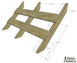 Plans For Picnic Table With Roof by Remodelaholic Diy House Garden Arbor