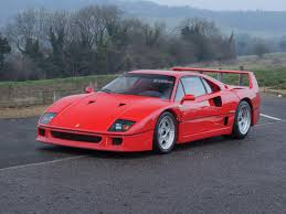 f40 auction rm sotheby s 1989 f40