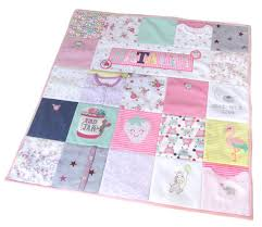 keepsake blankets personalized memory quilt keepsake blankets memory by bowbeanie
