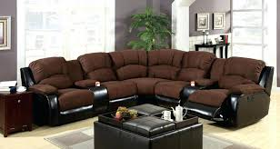 Sectional Recliner Sofas Microfiber Microfiber Sectional Sofa With Recliner And Chaise Www Napma Net