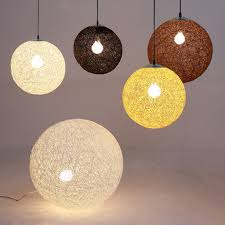 Sphere Ceiling Light by Aliexpress Com Buy Nordic American Counryside Vine Ball Hanging