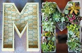 planter for succulents monogram planter ladder vertical planter monogram succulent planter