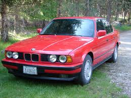 bmw owner new bmw owner gorgeous brilliant red e34