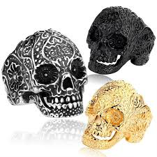 classic skeleton ring holder images Classic garden secret 316l stainless steel jewelry men buycoolprice jpg