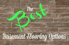 peachy best basement flooring options diy basement inspiring
