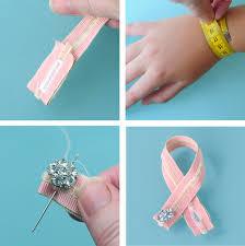make bracelet simple images Go make me simple ribbon bracelets go make me