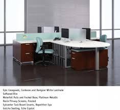 National Waveworks Reception Desk Office Furniture Atlanta Aoli National Office Furniture