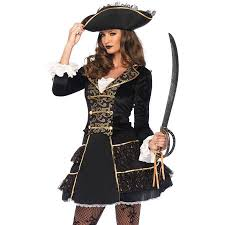 Captain Halloween Costume Leg Avenue Seas Pirate Captain 2 Piece Costume