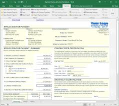 Aia G702 Excel Template Payment Application Made Easy For Excel Free And