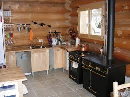 plaisir cuisine accueil créatif plaisir chalets maison bois rond avec cuisine chalet