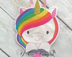 art deco unicorn ring holder images Unicorn bow holder etsy jpg