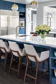 kitchen ideas with blue cabinets blue cabinets with granite countertops design ideas