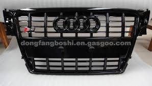 audi aftermarket grill audi aftermarket grill made of abs high quality material black b8