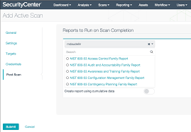 reporting requirement template nessus scan report sc report template tenable reports to run screenshot