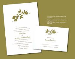 olive branch letterpress wedding invitation olives wedding