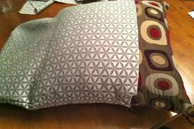 Papasan Cushion Cover Pattern by Diy Why Spend More No Sew Pillow Covers Using Glue