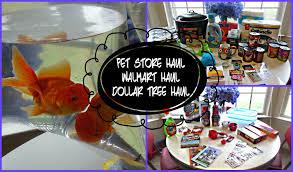 pet store haul walmart haul a dollar tree shopping haul