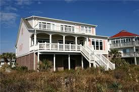edisto island vacation rentals sc the breakers beach front