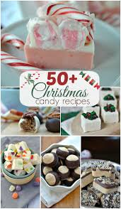 50 christmas candy recipes shugary sweets
