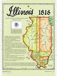 Michigan State Land Map by Statehood Maps