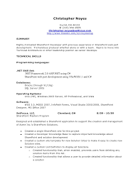 Unix Developer Resume Classy Sharepoint Developer Resume 12 Linkedin Visualcv Examples