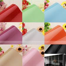 Self Adhesive Wallpaper by Solid Color Self Adhesive Pvc Contact Paper Shelf Liner Peel