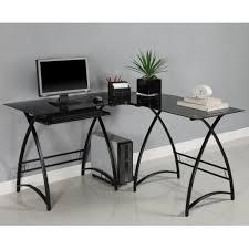 L Shaped Computer Desk Black by L Shaped Wood Computer Desk Desk Design Cheap L Shaped Pertaining