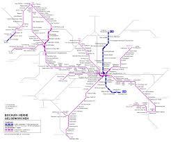 Dallas Metro Map by Bochum Map