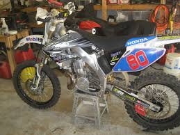 this looks tempting cr500 in cr125 chassis honda 2 stroke